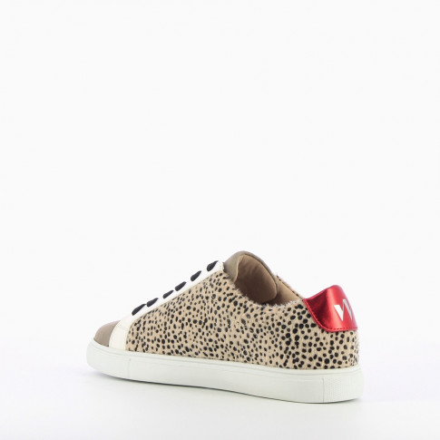Cheetah-print sneakers