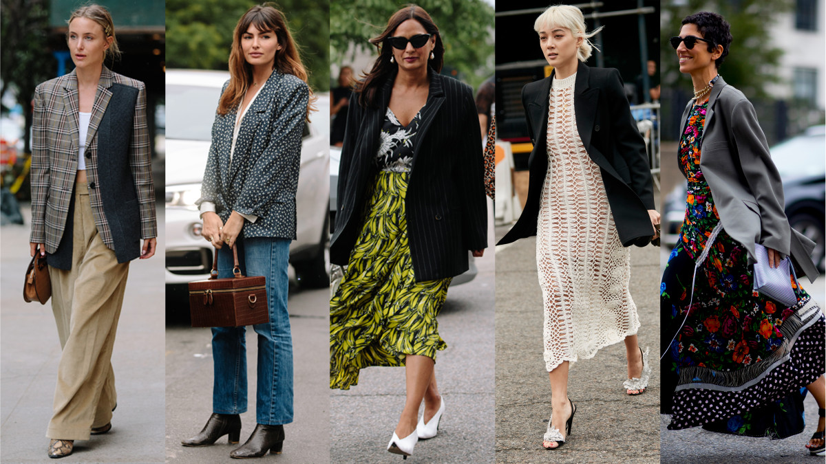new-york-fashion-week-street-style-spring-2019-Showgoers-wore-blazers-Fashionista