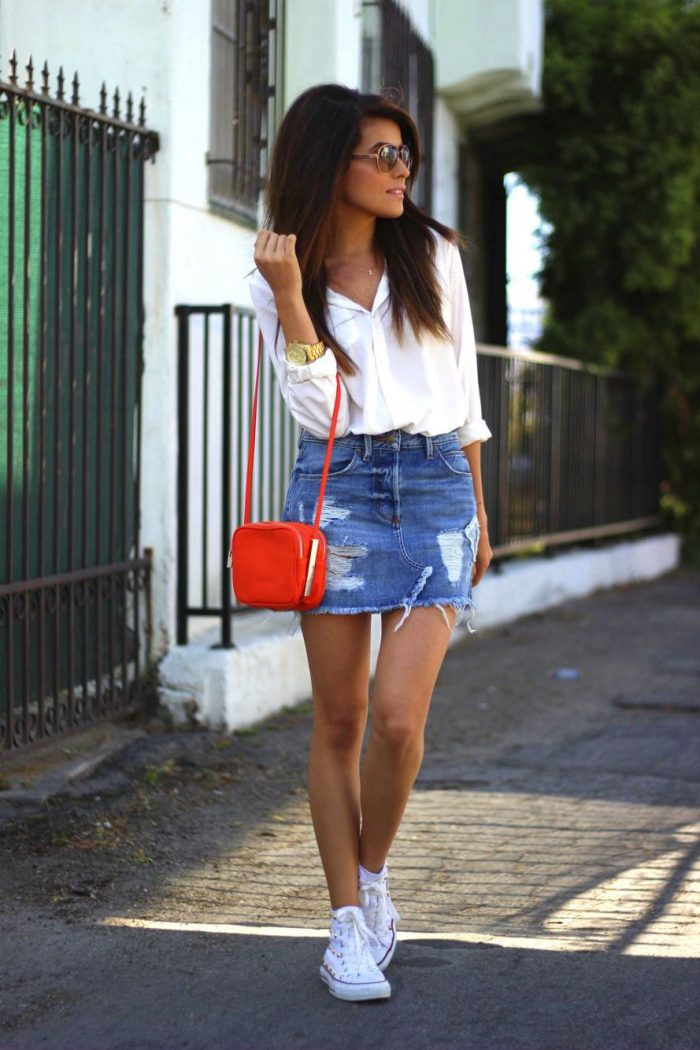 39 Denim Slirts tat are Super Trendy-FashionMakesTrends.com