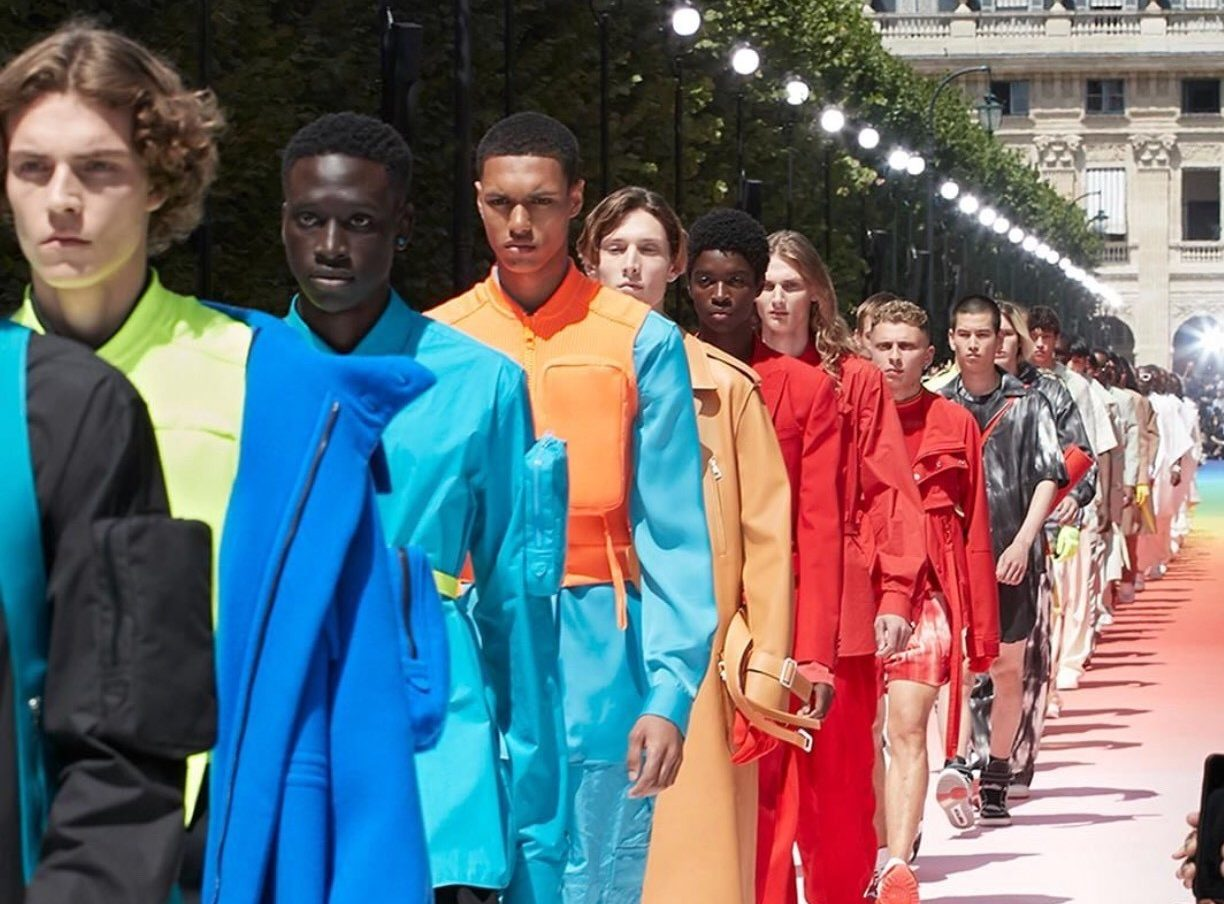 Virgil Abloh debuts first menswear collection fr Louis Vuitton - CLIQUE Adelaide
